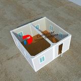 20FT de vlakke Huizen van de Container van het Pak Prefabdie als Aanpassing van het Bureau van de Container en van de Container of Draagbare Cabine worden gebruikt