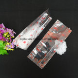 Refuerzo lateral de la OPP transparente embalaje bolsa de plástico impreso