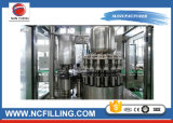 El frasco de cristal tapa de aluminio de la máquina de llenado de bebidas carbonatadas