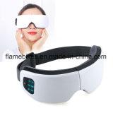 180 graus de olhos confortáveis de dobragem massajador com aquecimento e vibração da máquina
