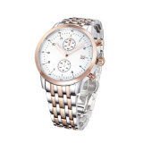 Sport di cristallo Watch72810 dell'uomo del cronografo di modo d'acciaio di lusso dell'orologio