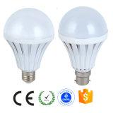 Bulbo plástico de B22 6400k CFL