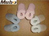 Zapatos dobles del invierno del bebé de la zalea de Australia de la cara con suavemente la planta del pie
