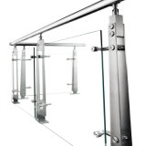 Un design moderne de la main courante le soutien à la main courante en acier inoxydable balustrade et balustrade en verre