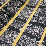 Polyester-Jacquardwebstuhl-Gewebe 100% für Kleid