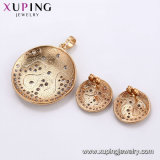 Schmucksachen die 63304 Luxuxfrauen-stellten späteste vorbildliche Form-Schmucksachen CZ-Gemestone mit Ring, Ohrring ein