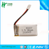 Batterie de la Chine RC 3.7V 602540 500mAh Lipo en stock