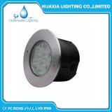 Luz subacuática inoxidable del acero IP68 LED de la C.C. 12V 24V 36W 316