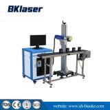 bewegliche Faser-Laser-Markierungs-Maschine des Metall20w für Plastik