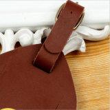 Marcas famosas Hang Tag (Etiqueta de couro para vestuário