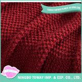 重くされた毛布を編むホーム織物の冬の暖かい投球のアクリル手