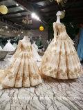 3/4 Sequins шнурка платьев втулок платьев венчания 2018 A1234 Bridal изготовленный на заказ