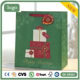 Feiertags-Supermarkt-Grün-Geschenk-Spielzeug-Geschenk-Papiertüten