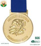Heißer verkaufender kundenspezifischer Gussteil-Zoll Sports Medaillen 3D mit Farbband
