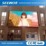 Haute résolution P4mm affichage LED pour l'intérieur de l'écran Installation fixe l'application