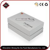 Kundenspezifischer Firmenzeichen-Vierecks-Geschenk-Papierfarben-Kasten