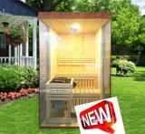 Sauna nórdica del pino del precio del nuevo sitio barato de la sauna para la familia