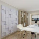 Panneau ignifuge acoustique de panneau de mur d'animal familier dans le bureau /Home