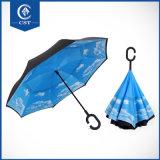 Горячий продавая способ двойного слоя 2017 больше красит обратный зонтик франтовским