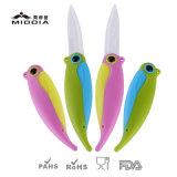 Творческие попугай в три раза керамический нож складной нож