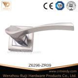 Le matériel en alliage de zinc de la poignée du levier de verrouillage de porte sur Rose