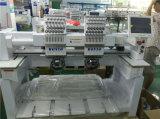 1000 سرعة تجاريّة وصناعيّ تطريز آلة 2 رأس مع بني في ملف ملفاف