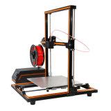 Anet Bigget Print Size 300X300X400mm de helft-Uitrusting van het Metaal E12 3D Printer