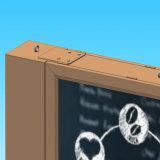 De reclame van Tweezijdig Openlucht het Scrollen Aanplakbord met LEIDENE Vertoning