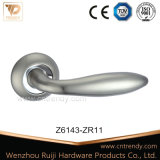 Zinc/laiton antique en aluminium de verrouillage de poignée de porte de tirer la poignée de porte