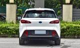 Grande automobile elettrica bianca con 5 sedi