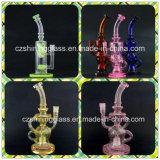De glanzende Waterpijp van het Glas van de Kleur van het Glas Perfecte Kleine voor het Roken