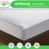China Proveedor de Felpa de algodón hipoalergénico resistente al agua 100% de la cubierta de protector de colchón de alta calidad