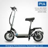 2 pulgadas 48V 250W revelan la E-Bicicleta de la ciudad (ADG20-40BL) con Ce
