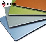 Golden PVDF métallique paroi externe du panneau de revêtement en aluminium (AF-401)
