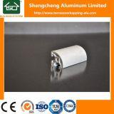 Les tuyaux de l'aluminium rond Carré tringle à rideau Alu u logement en aluminium anodisé clair porte de placard pour LED de profil