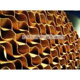Almohadilla de refrigeración de la celulosa el papel para la granja avícola