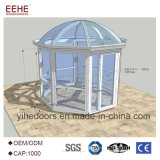 정원 알루미늄 단면도를 가진 유리제 일광실 저장 집