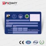 Boleto de papel del panel de firma MIFARE (r) 1K RFID para la calidad de miembro Mangagement