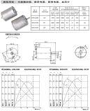 Motori elettrici 12V di CC della fabbrica