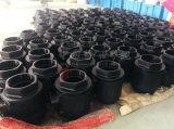 Valvola a sfera Port piena di Wcb Borethread 2PC del acciaio al carbonio