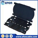 Montaje en rack extraíble tipo fibra de 24 de 48 cajas de distribución Fiberfiber Patch Panel de fibra óptica