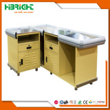 Wal-Martart-elektrischer Kassierer-Schreibtisch mit drehendem Tisch