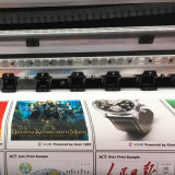Impresora de interior al aire libre 1201 del solvente de Eco del formato grande de la cabeza de impresora de la impresora el 1.8m 2.5pl Xaar de Xuli