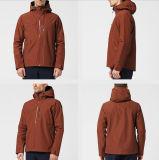 Промелькните-вверх фабрику одежды Китая куртки пальто зимы доказательства Water&Wind напольную