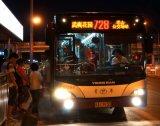 De Tekens van de LEIDENE Strook van de Vertoning voor Bus