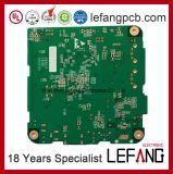 PWB da placa de circuito 94V-0 impresso para o controlador do monitor da segurança