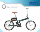 Карманн 250W зеленой силы складное миниое Bike Ts01f колеса 20 дюймов электрический