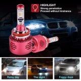 ampoule approuvée de phare du véhicule DEL de puissance en watts des phares H8/H11 20 du POINT DEL de 2500lm H9/H11