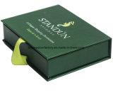 Vakjes van de Gift van de Stijl van het boek de Stijve met de Verpakking van de Gift van de Vorm van het Lint/van het Boek