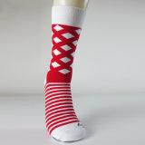 2017 женщин типа носок способа счастливых связали счастливые носки хлопка